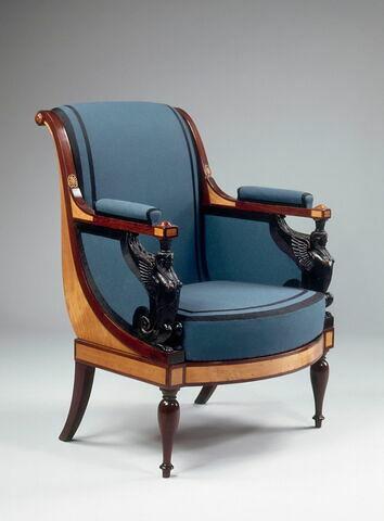 Fauteuil du salon de Madame Récamier (OA 11384 à 11391), d'une paire avec OA 11388