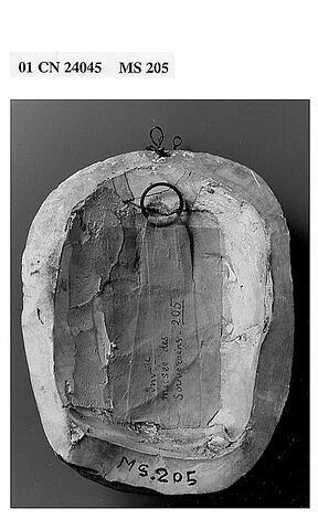 dos, verso, revers, arrière © 2001 RMN-Grand Palais (musée du Louvre) / Jean-Gilles Berizzi