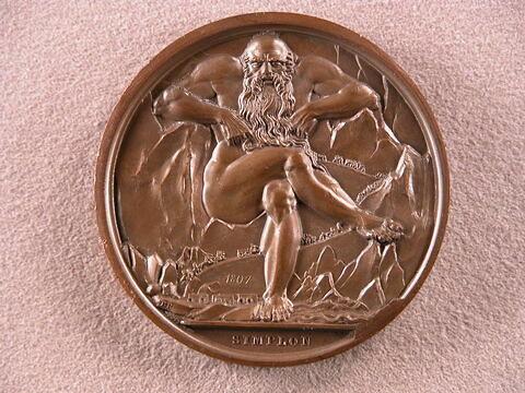 Médaille : Passage du Simplon, 1807