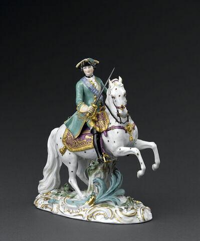 Catherine II de Russie à cheval