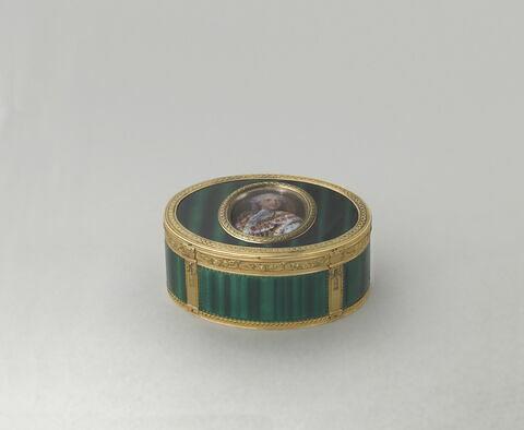 Tabatière à portrait de Louis XV