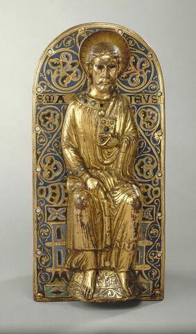 Plaque de parement : Saint Matthieu.