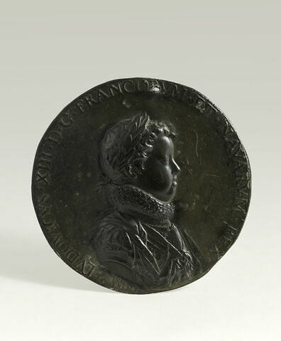Médaille : Louis XIII enfant