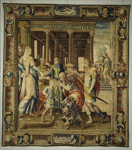 Les Placets, de la tenture de l'Histoire d'Artémise