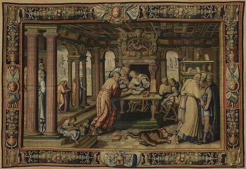 L'éducation du Prince, de la tenture de l'Histoire d'Artémise