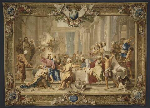 La Madeleine chez le Pharisien, de la tenture du Nouveau Testament