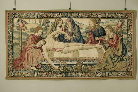 Lamentation sur le Christ mort.