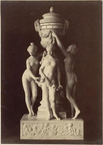 Pendule : Les Trois Grâces.