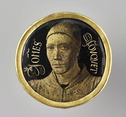 Médaillon : autoportrait de Jean Fouquet