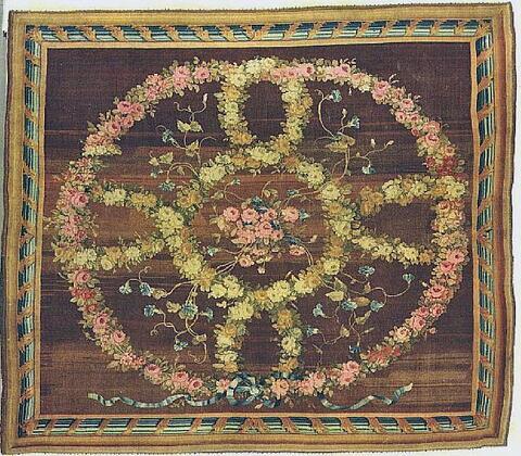 Tapis à guirlandes de roses, dit de Marie-Louise