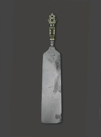 Couteau présentoir incrusté