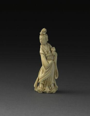 Netsuke : Xiwangmu (reine-mère d'Occident)