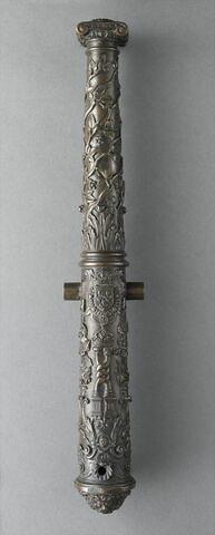 Petit canon aux armes de Charles IX