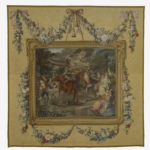Le Chevillard, de la tenture de l'Histoire de Don Quichotte tissée pour le baron de Breteuil