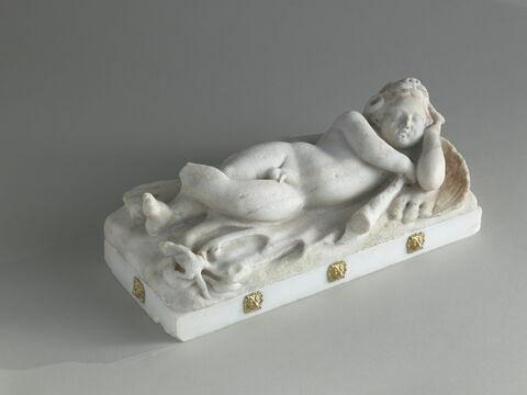 Statuette : Amour endormi avec les dépouilles d'Hercule