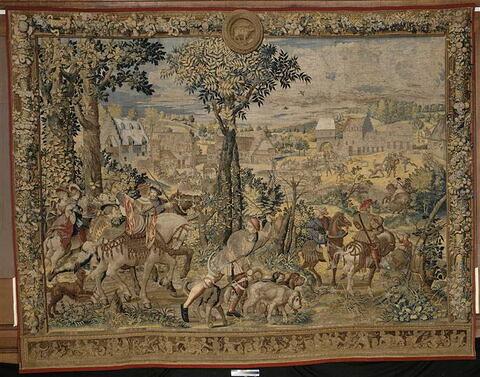 Le mois d'avril ou Le signe du taureau ou Le Retour de la chasse, de la tenture dite des Chasses de Maximilien