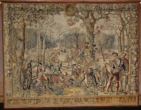 Le mois de novembre ou Le signe du sagittaire ou Le rapport, de la tenture dite des Chasses de Maximilien