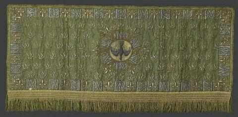 Pente du dais de l'autel de la chapelle de l'ordre du Saint-Esprit (MS 64 6, composé de MS 64 7 à MS 64 11)