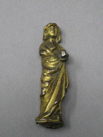 Statuette d'un ensemble de douze provenant d'une châsse : Vierge d'Annonciation