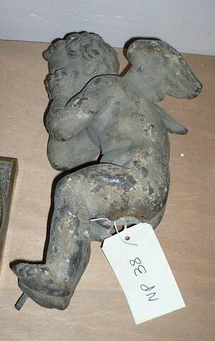 Angelot (d'une paire) Fonte de fer.