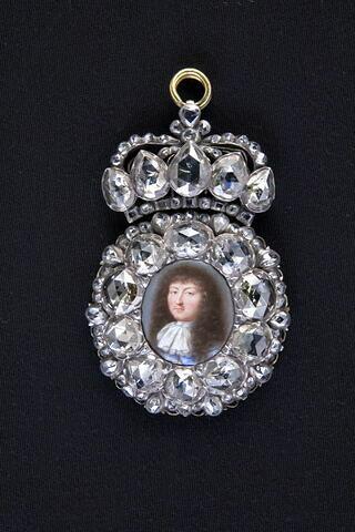 Boîte à portrait de Louis XIV