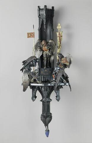 Lampe de l'archange saint Michel