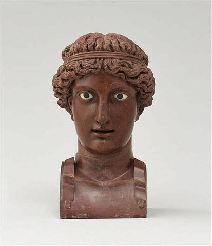 Buste : Apollon couronné de bandelettes
