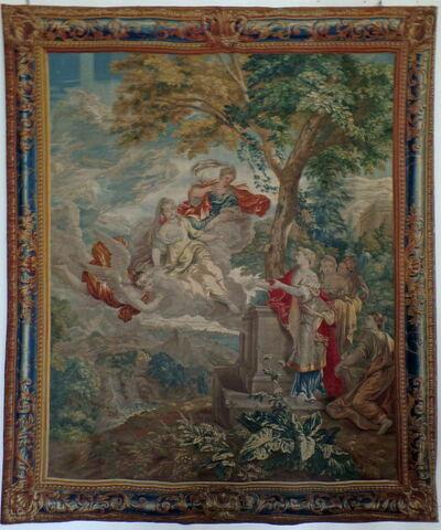 Zéphir porte les sœurs de Psyché au palais de l'Amour, de la tenture de l'Histoire de Psyché