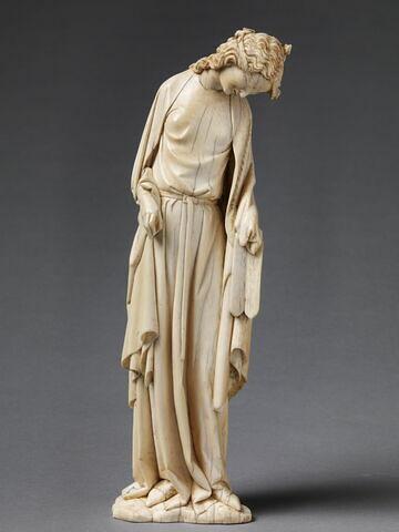 Statuette provenant du groupe représentant la Descente de Croix : la synagogue