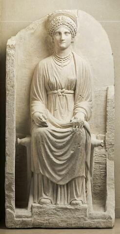 stèle ; objet funéraire