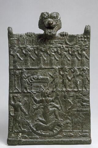plaque de conjuration