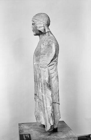 profil gauche © Musée du Louvre / Antiquités orientales