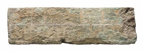 brique ; document écrit