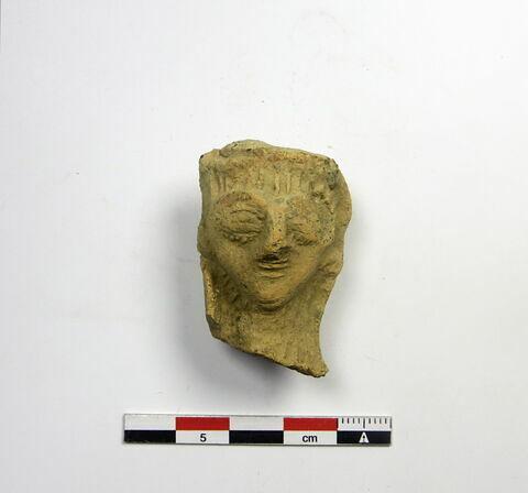 figurine  ; tête