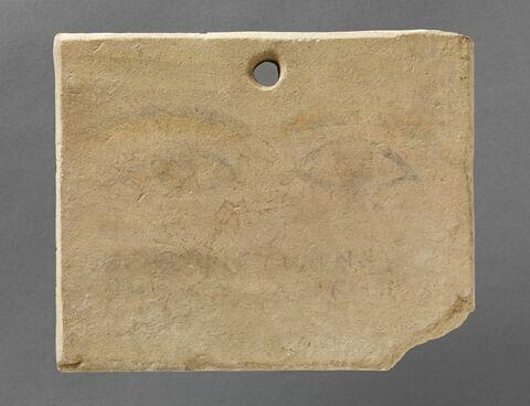 plaque ; ex-voto