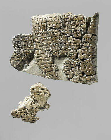 tablette ; fragment