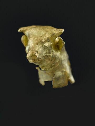 élément de figurine ; tête d'épingle