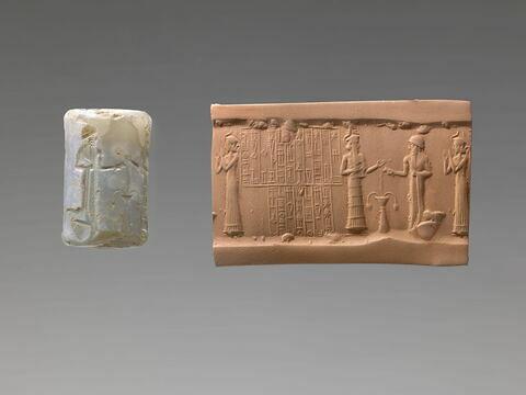 sceau cylindre ; objet votif