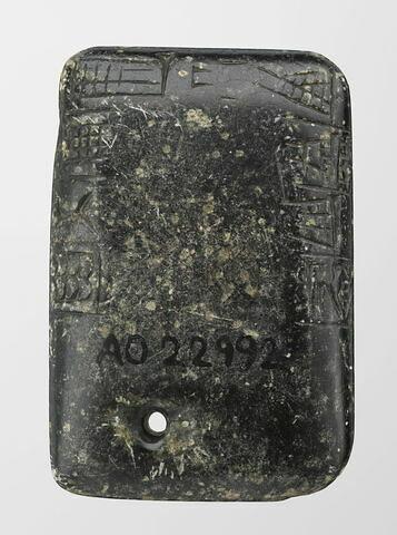 dos, verso, revers, arrière © 2016 RMN-Grand Palais (musée du Louvre) / Mathieu Rabeau