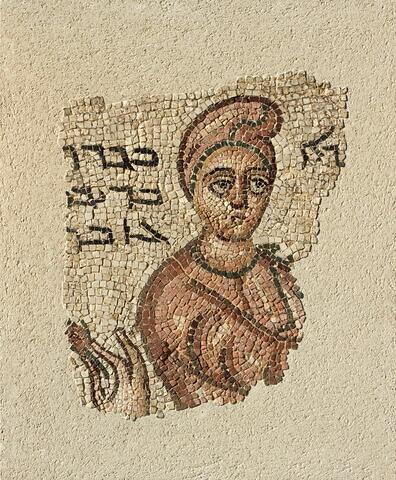 mosaïque  ; objet funéraire