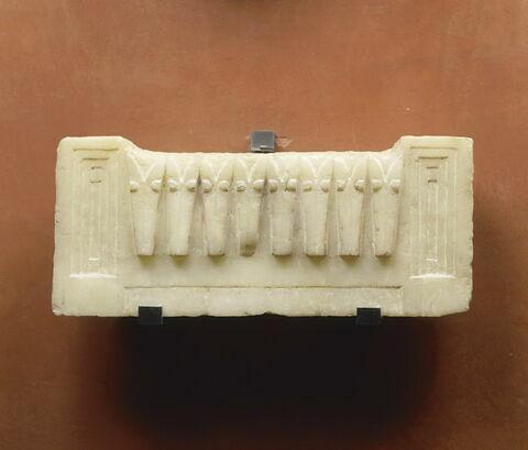 plaque ; niche