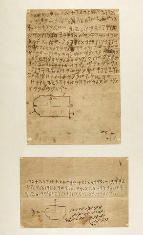 copie ; stèle