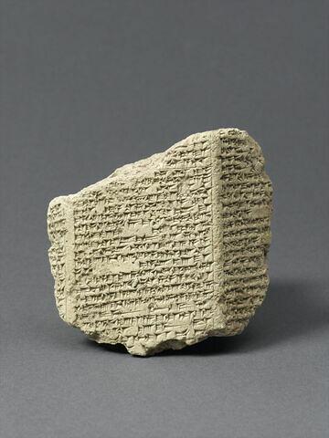 tablette ; document écrit