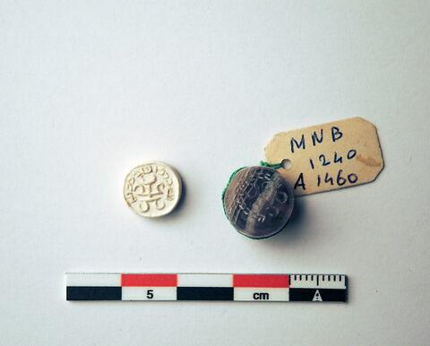 cachet ; dactylioïde