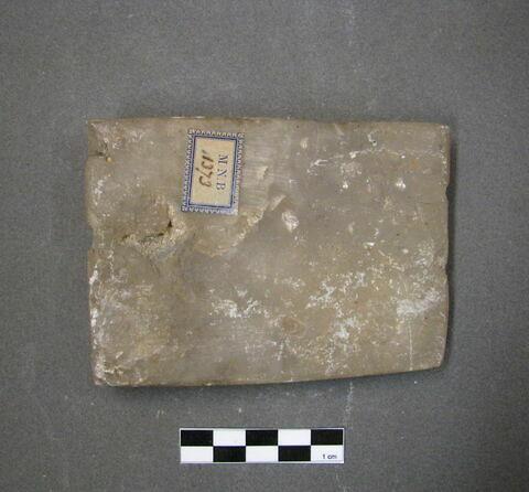 plaque ; tablette