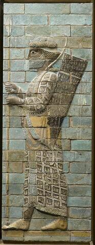 panneau de briques