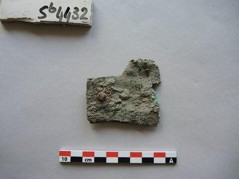 plaque ; fragment