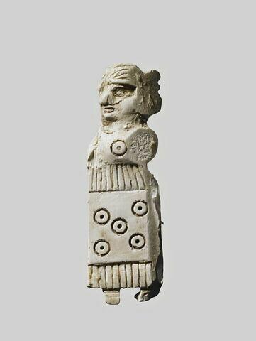 plaquette  ; figurine