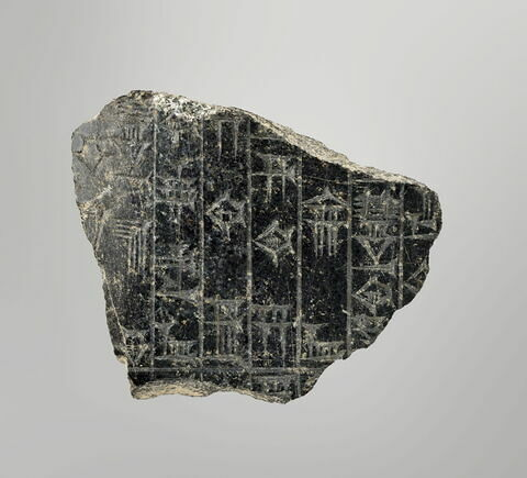 stèle ; fragment