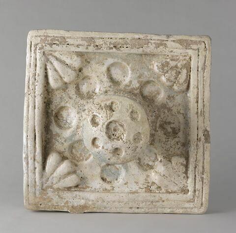 carreau d'applique ; élément du décor architectural